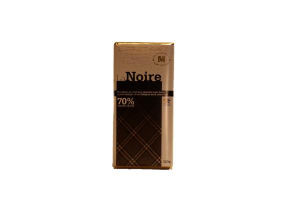 0215 - Barre 100g la Noire - Les chocolats Martine