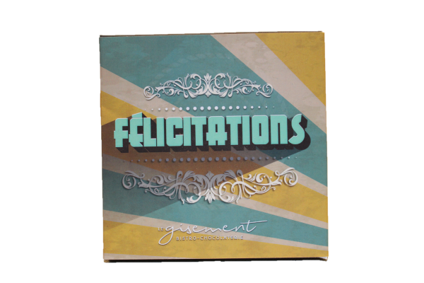 4906 - Carte générale félicitations - Le Gisement