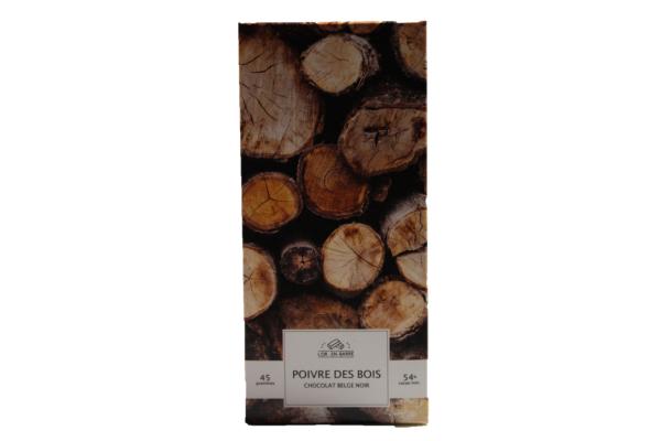 4920 - Chocolat mi-amer poivre des bois - Le Gisement