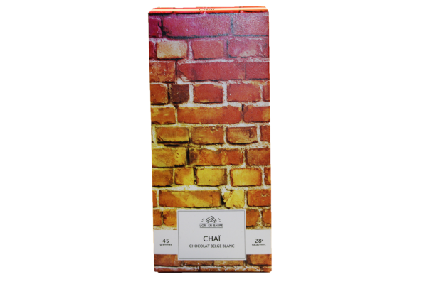 4927 - Chocolat blanc chai - Le Gisement